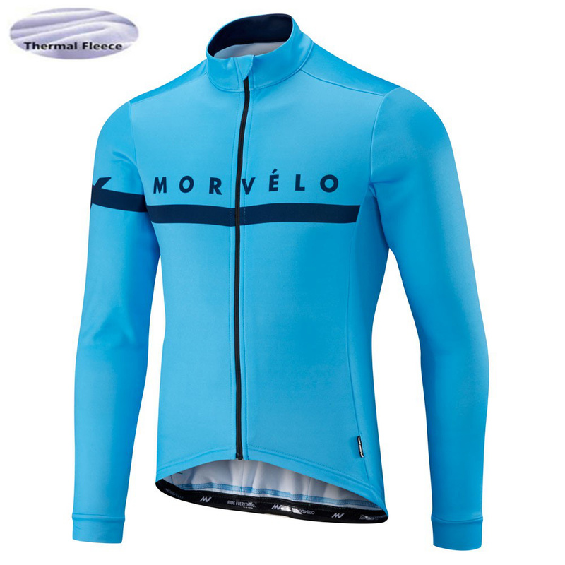 Morvelo Thermal Winter Polar Cycling Jersey Long Sleeve Mens Clothing Bike Clothing Ropa maillot CiclismoMorvelo Thermal Winter Polar Cycling Jersey Long Sleeve Mens Clothing Bike Clothing Ropa maillot Ciclismo