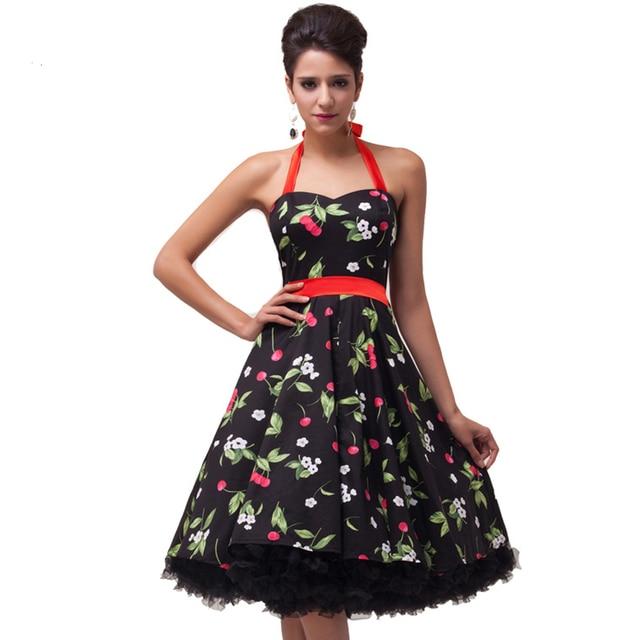 Fashion Clothes Women Plus Size Dresses Halter Cotton Vestidos Pin ...