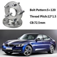 Jinke 2pcs 5x120 72.5CB Centric Wheel Spacer Hubs M12*1.5 Bolts For BMW E36 E46 E60 E66 E84 E85 E86 E87 E89 E30 E81 E82 E52 E64