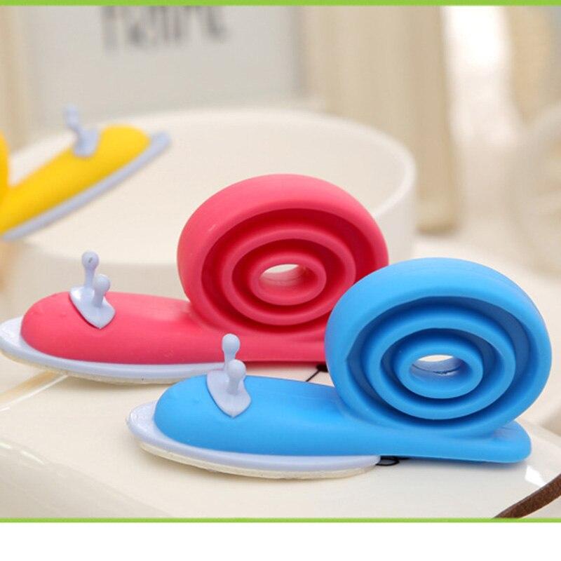 3 pcs/lot Plastic Cute Cartoon Snails Baby Child kids Safety Finger Protection Guard Windproof Door Stopper Gate Corner