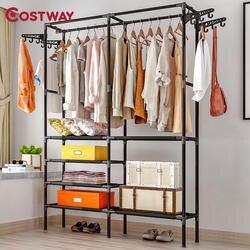 COSTWAY одежда вешалка для пальто вешалка для пола шкаф для хранения Одежда сушилка для одежды порте манто kledingrek perchero de pie