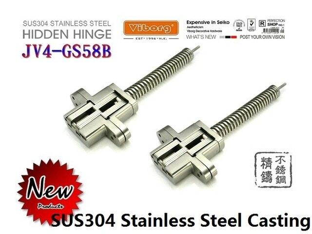 1 Pair Viborg Sus304 Stainless Steel Heavy Duty Self