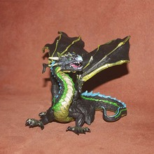 PVC figure Doll model toy myth and lengends cloud dragon ornaments