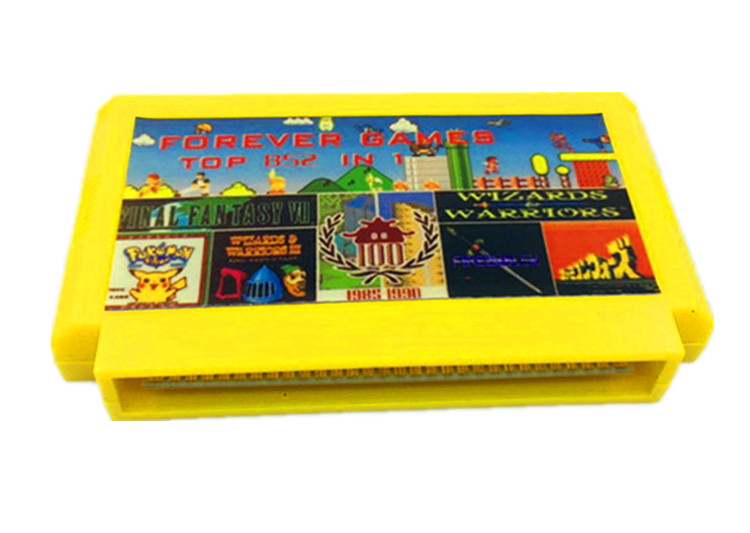 FOREVER DUO GAMES OF 852 In 1 (405+447) Game Cartridge For 8bit Game Cartridge, Total 852 Games 1024MBit Flash Chip In Use