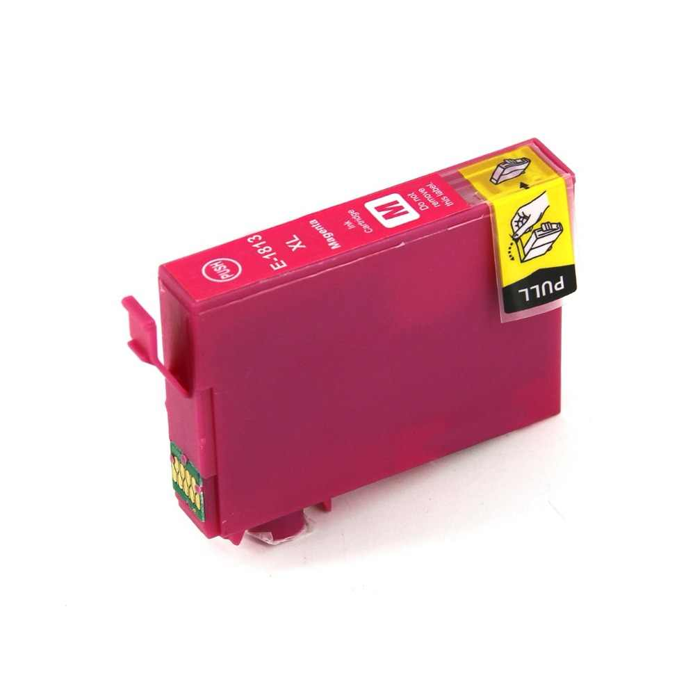 Mekar Kompatibel untuk Epson T1811 BK Black Ink Cartridge XP-215 XP-312 XP-315 XP-412 XP-415 XP-225 XP-322 XP-325 XP-422 Printer