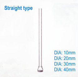 1PCS lab Glass Sand Core Straight type Gas Dispersion Tube, Air Guiding Glass Pipe sand plate Gas diffusion distribution tube