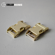 100pcs High quality metal belt buckle release snap hook for 3/4 inch 20mm DIY dog collar pet supplies accessories