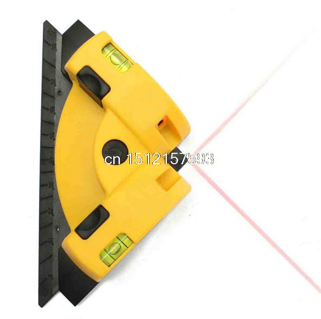 Hot Sale High Quality Pro Vertical Horizontal Laser Line Projection Square Level Right Angle 90 degree right angle 90 degree vertical horizontal laser line projection square level