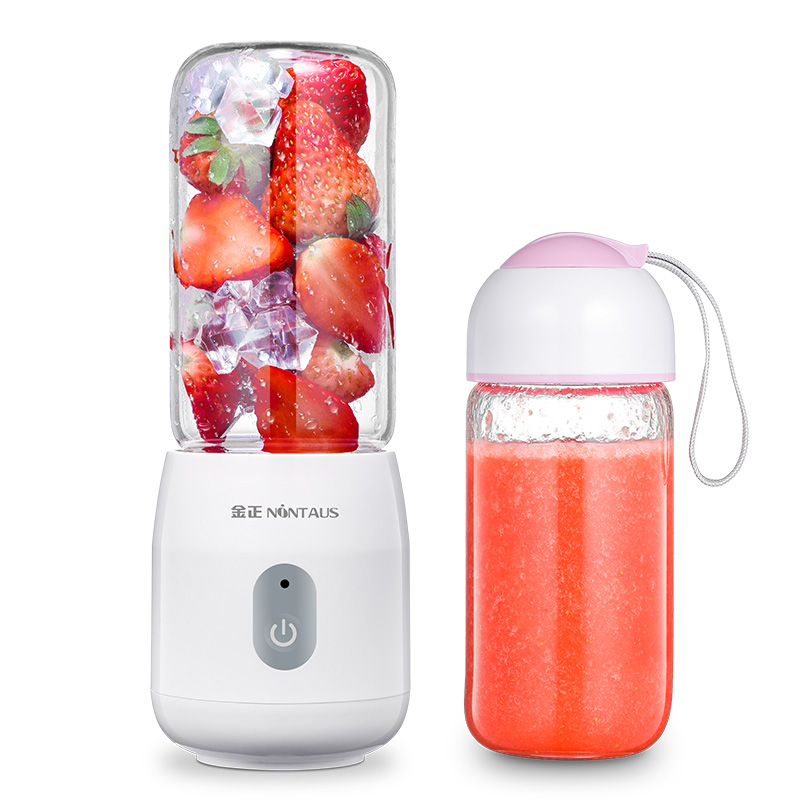 ZA07 mini Portable orange juicer electric juicer student Rechargeable blender juicer Food grade glass Easy clean with cup 200W good food easy student dinners