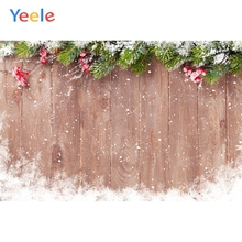 Yeele Wood Natural Background Snow Pine Room Decor Photography Backdrops Personalized Photographic Backgrounds For Photo Studio
