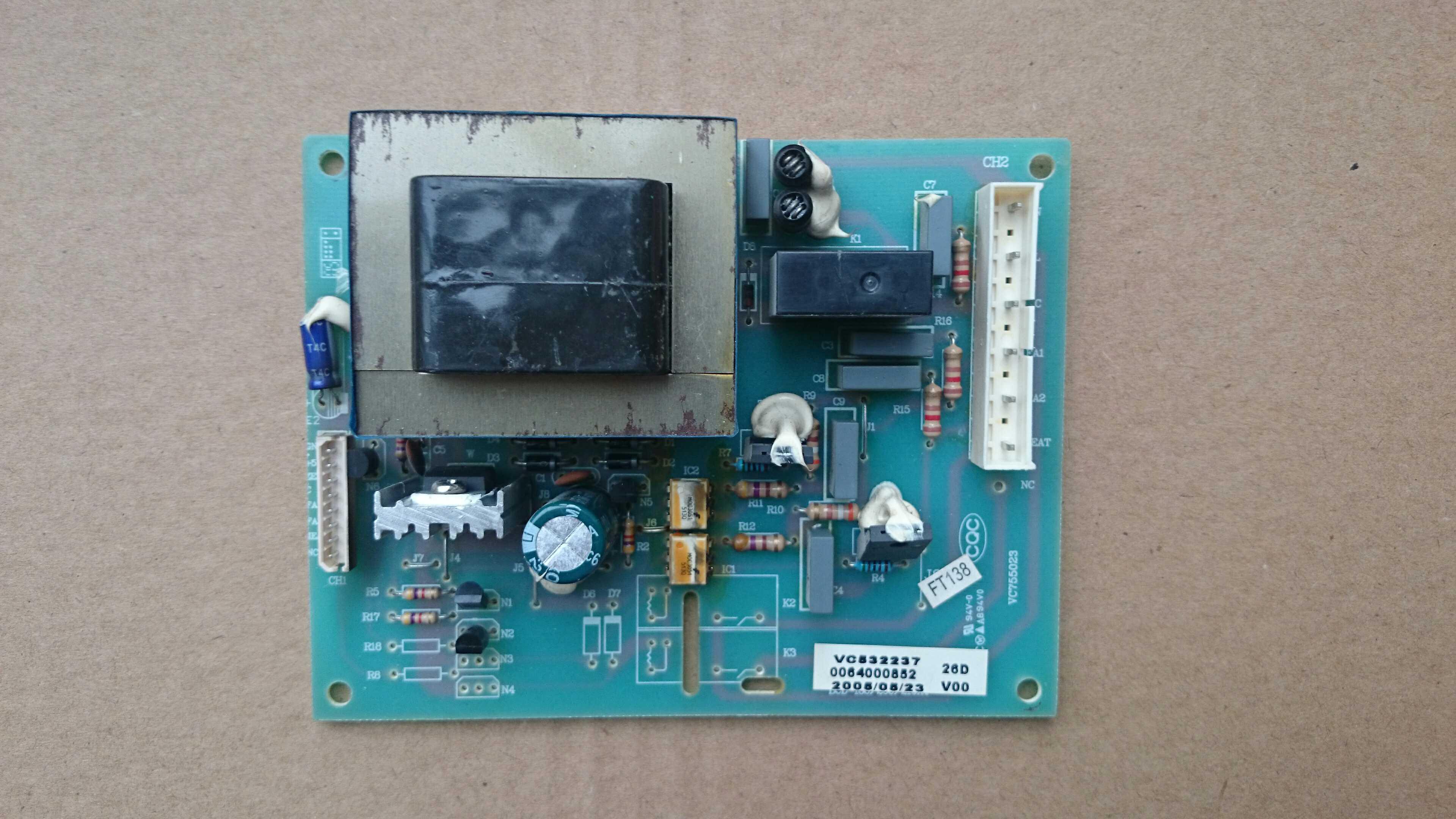 Frigorifero Haier scheda di potenza scheda di controllo principale 0064000852 per Haier frigorifero BCD-186SY-206SYFrigorifero Haier scheda di potenza scheda di controllo principale 0064000852 per Haier frigorifero BCD-186SY-206SY