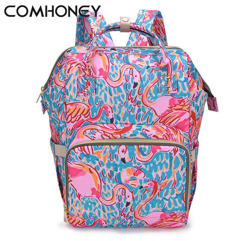 Diaper Bag Mummy Maternity Nappy Bags For Baby Stroller Large Capacity Travel Backpack Nursing Baby Care Wetbag