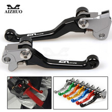 цена на Motocross dirt bike CNC Pivot Brake Clutch Levers for honda CR125R CR 125 R 1992 93 94 95 96 1997 1998 1999 2000 2001 2002 2003