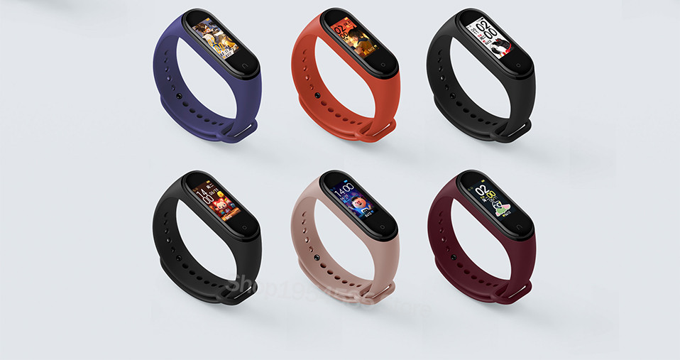 Xiaomi Mi Band 4 Smart Watch Standard Version Heart Rate Activity Fitness Tracker Smart Band Bracelet Colorful Display 2019 New (17)