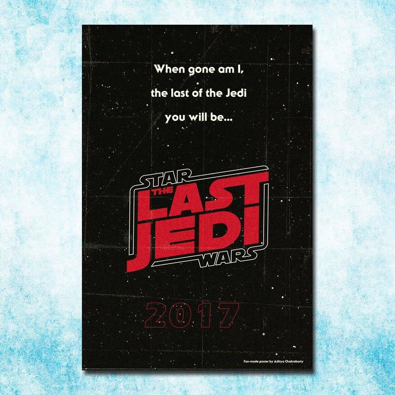 2017 Star Wars The Last Jedi Episode VIII New Movie Art