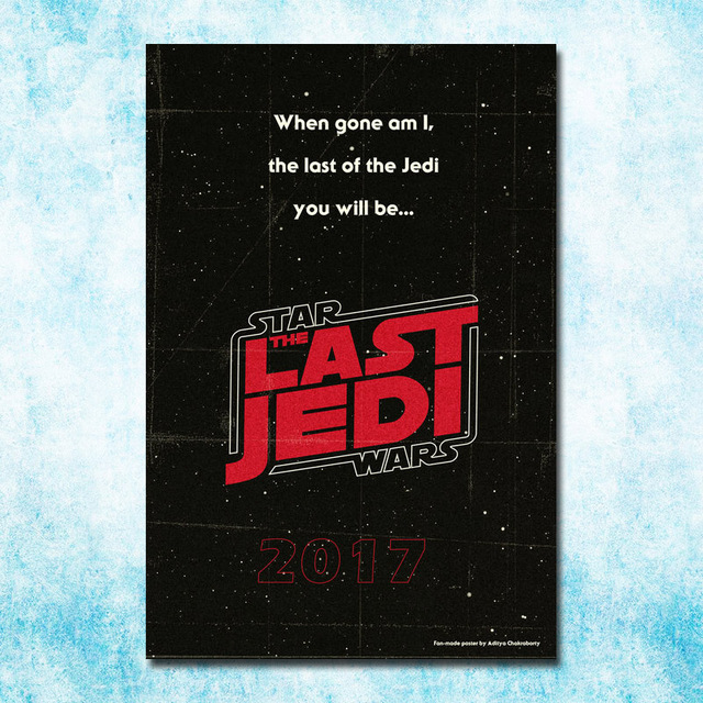 2017 Star Wars The Last Jedi Episode VIII New Movie Art Silk Canvas Poster 13x20 16x24 inch Picture For Room Decor(more)-7
