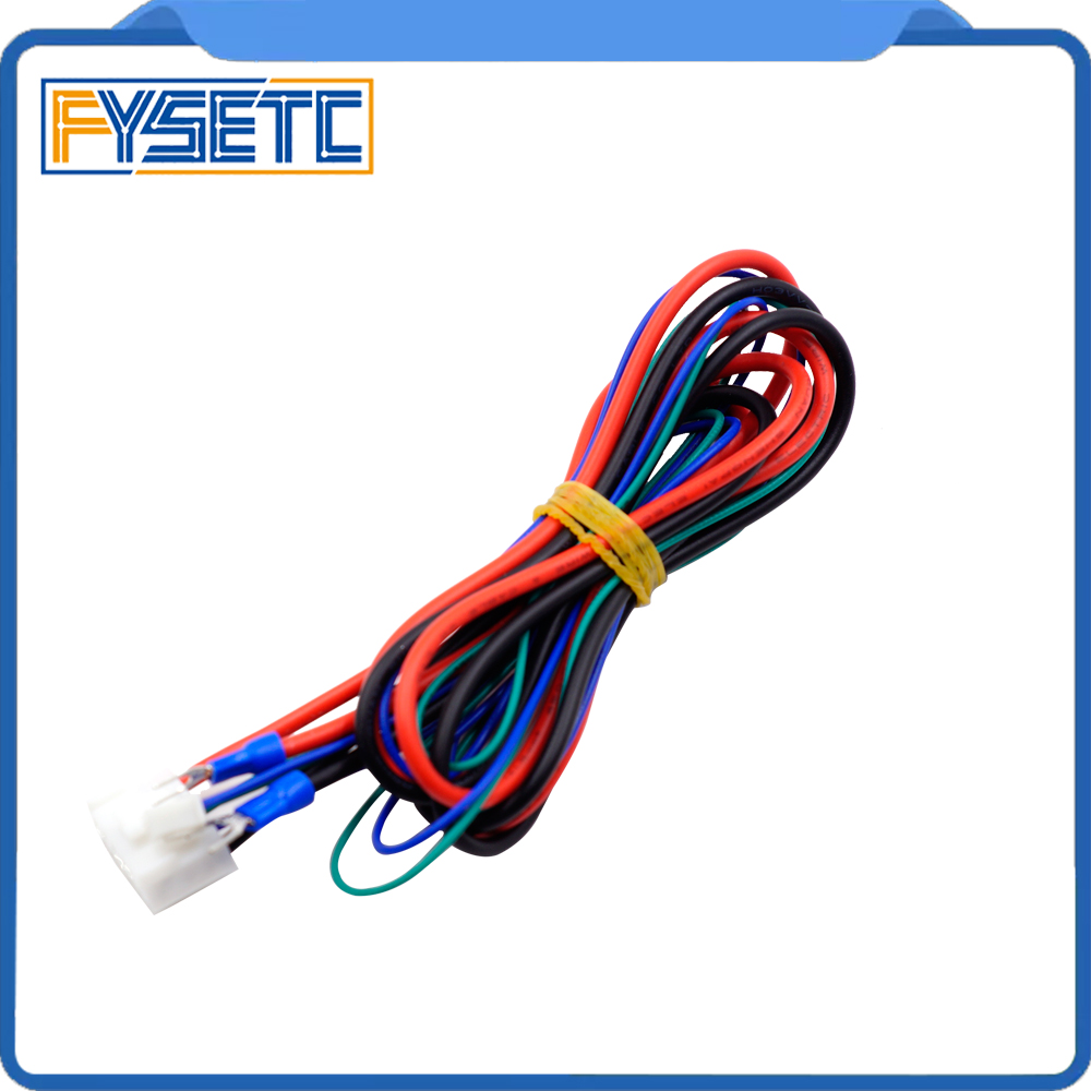 1PC Replace Anet A6/A8 Hotbed Bed Line/Cable Upgraded MK2A /MK2B/MK3 For Mendel I3 Anet A8 3d Printer Heated Bed Cable