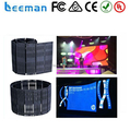 2015 Leeman alibaba new product led flexible curtain screen flexible mini led screen display flexible led display screen video