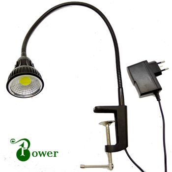 WITH CLAMP 10W WORKSHOP LED GOOSENECK LAMP ...
