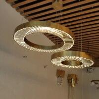 100% guarantee LED crystal lights chandelier modern lighting AC110V 220V lustre LED dinning room living room hanging lamp