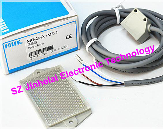 100% New and original FOTEK Photoelectric switch  MG-2MX+MR-1 new original taiwan s yangming fotek new original photoelectric switch reflector mg 2mx mr 1 sensor