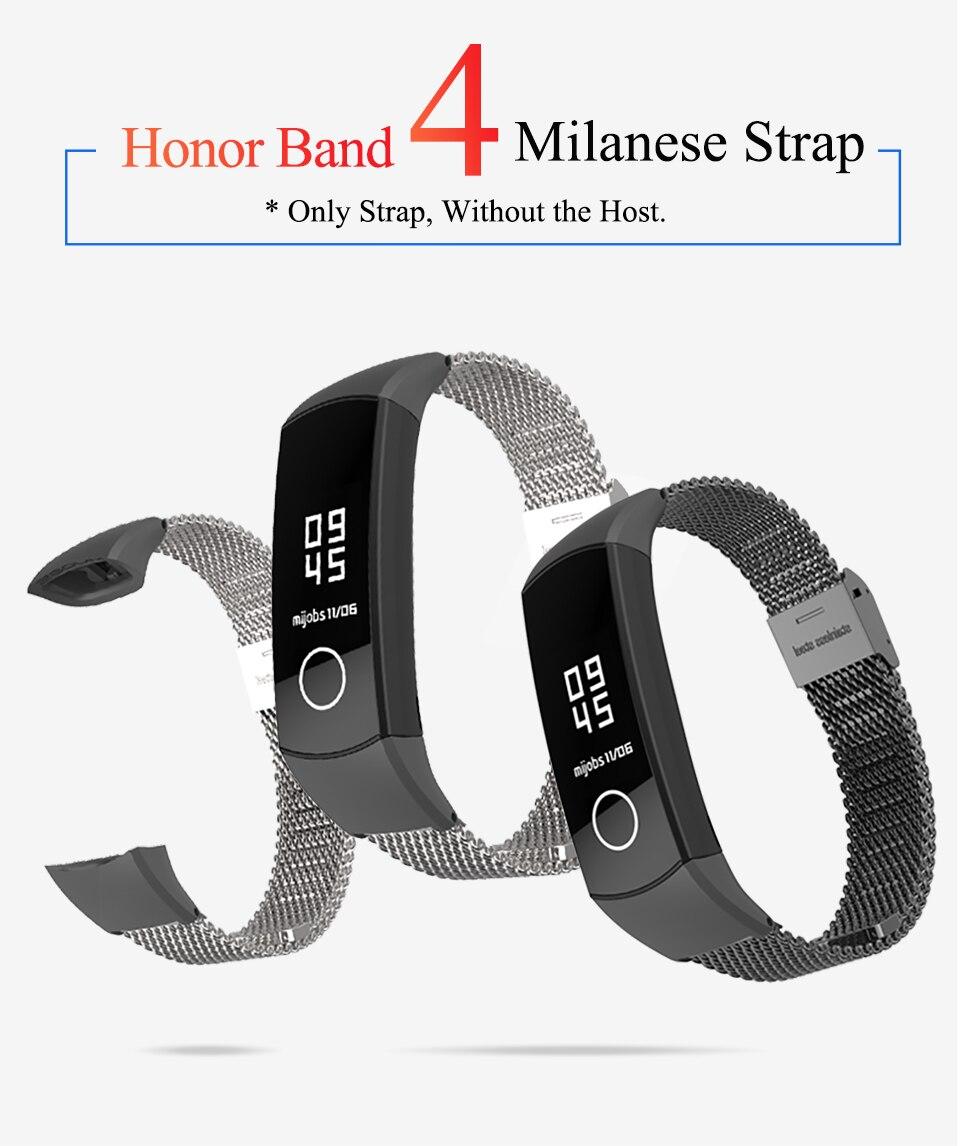 honra banda 4 pulseira inteligente relógio banda cinta