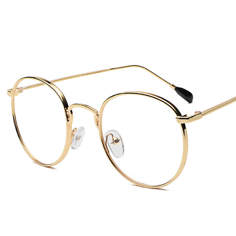 Steampunk Sonnenbrille Männer Frauen Runde Metall Sonnenbrille Doppel Balken Marke 5A133-164 Designer Frau Brille Mode Oculos UV400
