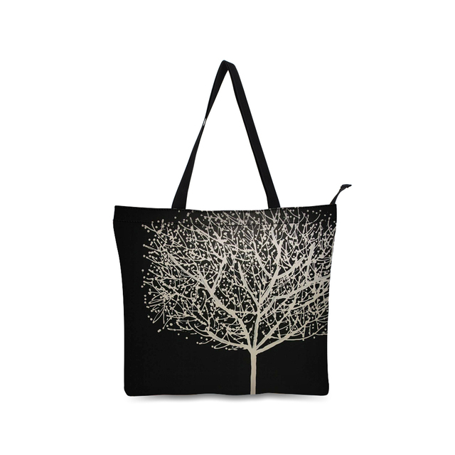 48591cf6ae83 2018 popular girls tote bag canvas shopping bag fancy black style bag for  shopping and daily