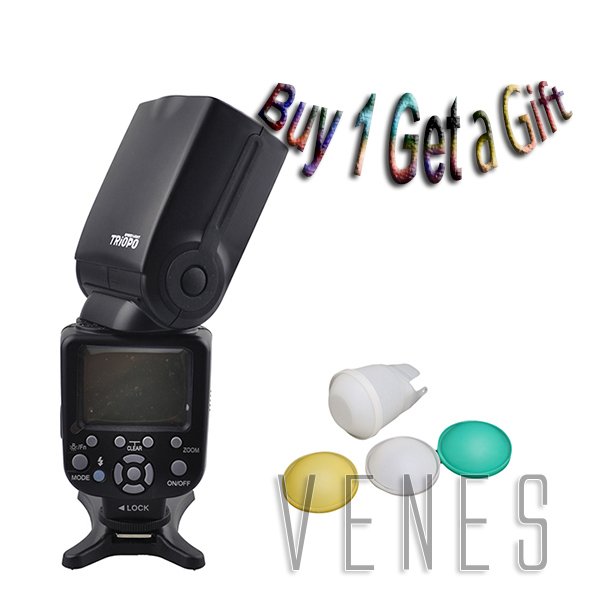 Special Offer buy 1 get 1 Gift!!! TR-850EX Flash Speedlite work For Nikon Canon Olympus pentax Fujifilm Camera image
