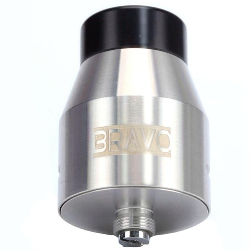 Coil Father Bravo RDA Atomizer With Wide Bore Drip Tip 25mm Diameter Tank Rebuildable Vaporizer Fit 510 E Cigarette Box Mod