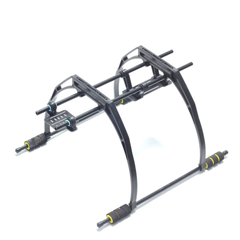 Prix pour FPV Haute Landing Gear Skid Version 2 avec Cardan Support batterie Plaque pour DJI F450 F550 SK550 SK450 Quadcopter Hexacopter cadre