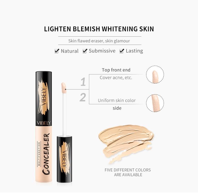 Perfect Cover Face Concealer Cream Pro Contour Makeup Liquid Concealer Makeup Foudantion Cream
