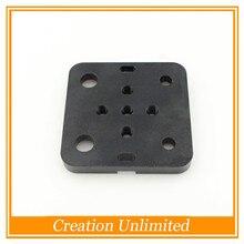 2 PCS c-faisceau Openbuilds CNC machine pièces pour V-Slot Mini V Portique Ensemble en alliage d'aluminium plaque kit mini roue 5mm alésage