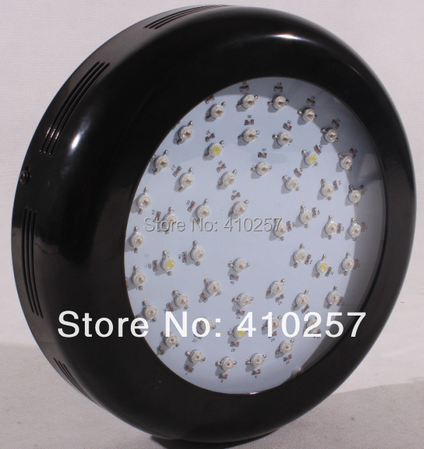 Wholesale 3W Led grow light 150W With 50pcs 3W leds for hydroponics lighting red 660nm for flowering stage dropshipping wholesale modular 120w led grow light for medical plants with 42 pcs 3w chip leds dropshipping
