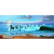 Yikee картины мозаики из алмазных элементов лошадь 5d diy Алмазная