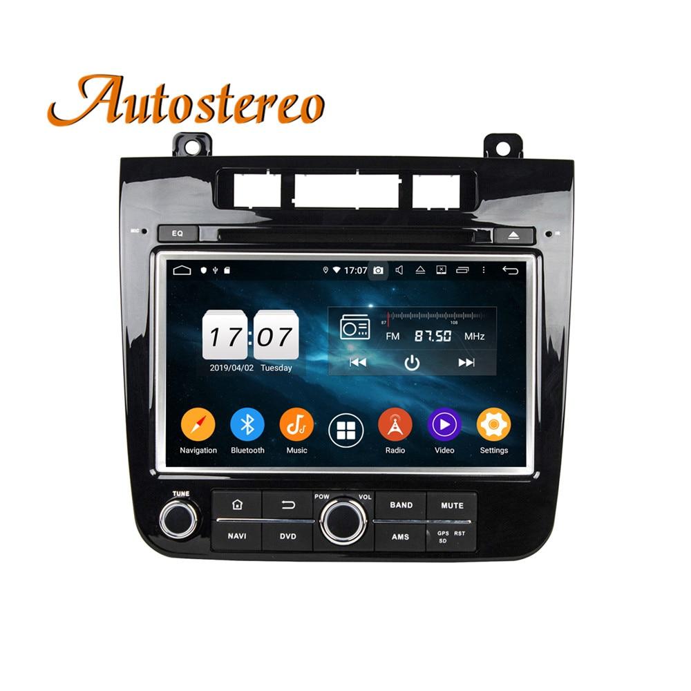Android 9 DPS 64GB Car GPS navigation For Volkswagen VW TOUAREG 10 multimedia headunit radio tape