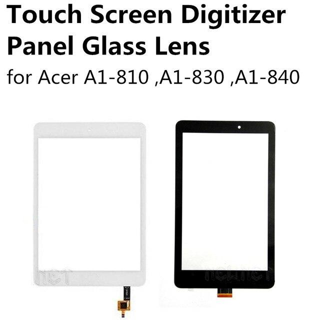 Черный/Белый Сенсорный Экран Планшета Панели Стеклянный Объектив для Acer A1-810 A1-830 7.9 дюймов Iconia Tab 8 A1-840 8 дюймов Замена часть