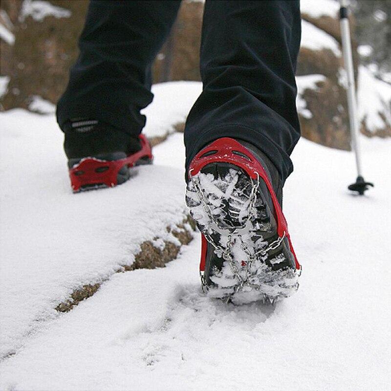 Crampons Elastic Magic Spike Shoes Anti Slip Ice Gripper ...