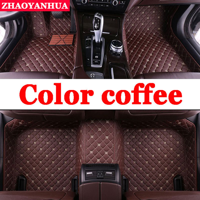 Zhaoyanhua Custom 100 Fit Car Floor Mats For Bmw X3 E83 F25 Pvc