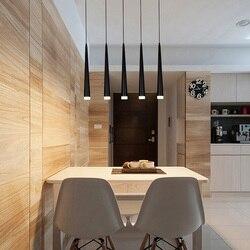 Restauracja w stylu nordyckim żyrandol trzy proste bar żyrandol osobowość twórcza długa rurka stołowa lampa biurkowa