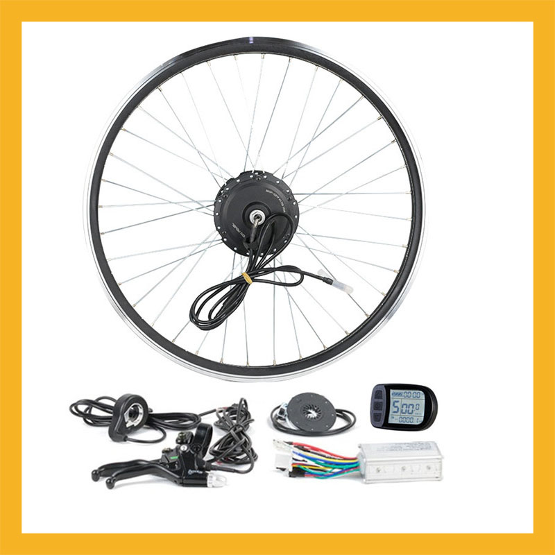 Electric Bike Conversion Kit 250W 48V 36V 24V For 20