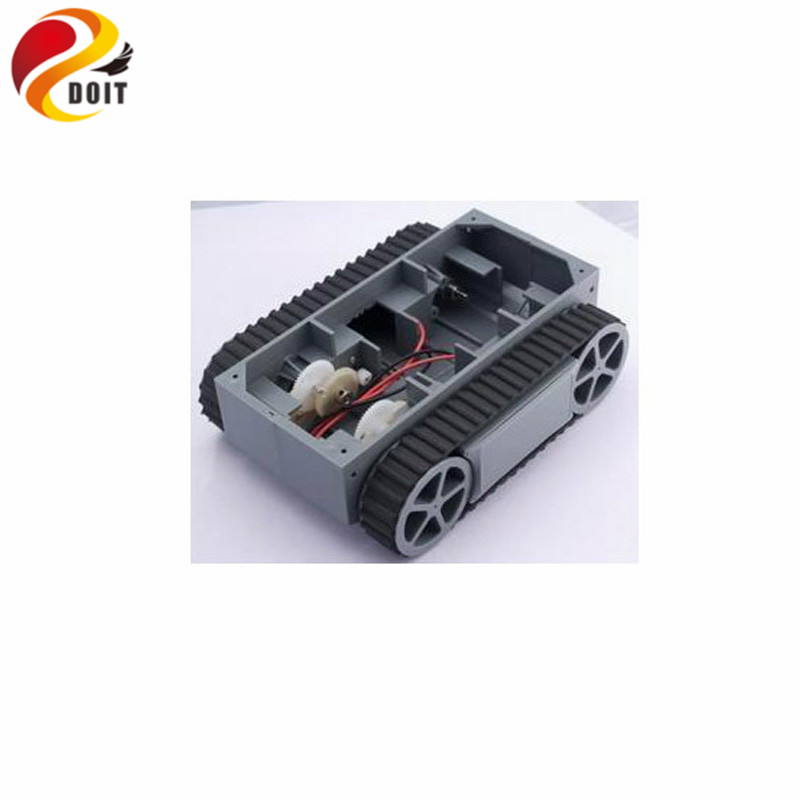 Rp5 Rc Crawler Chassis Tanks Smart Car Power Tracking Tracing