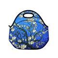 2015 неопрена обед сумка теплоизолирующего сумка для женщин детей пищевой сумка кулер обед мешок LT-6082