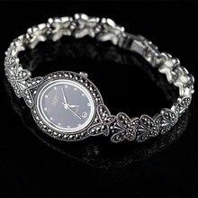 Hot SaleTop Quality Butterfly Bracelet Watch Women Retro S925 Sterling Silver