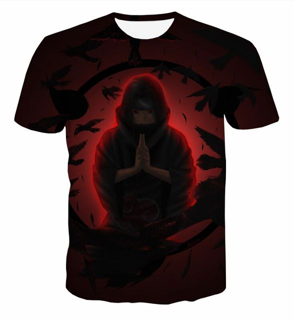 Naruto Sasuke T-shirt