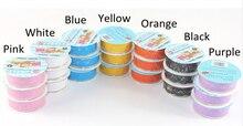 Scrapbooking Lace adesivos decorativos para decoração de álbuns de fotos, branco/rosa/azul/preto/roxo/amarelo 9 pçs/lote