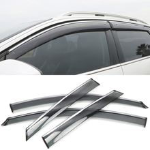 Window Visors Awnings Wind Rain Sun Deflector Visor Guard Vent Cover FOR Peugeot 3008 GT 2017 2018 2019