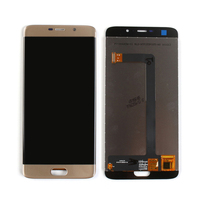 터치 스크린 디지타이저 어셈블리가있는 elephone s7 lcd 디스플레이 용 오리지널 블랙/블루/골드 무료 배송