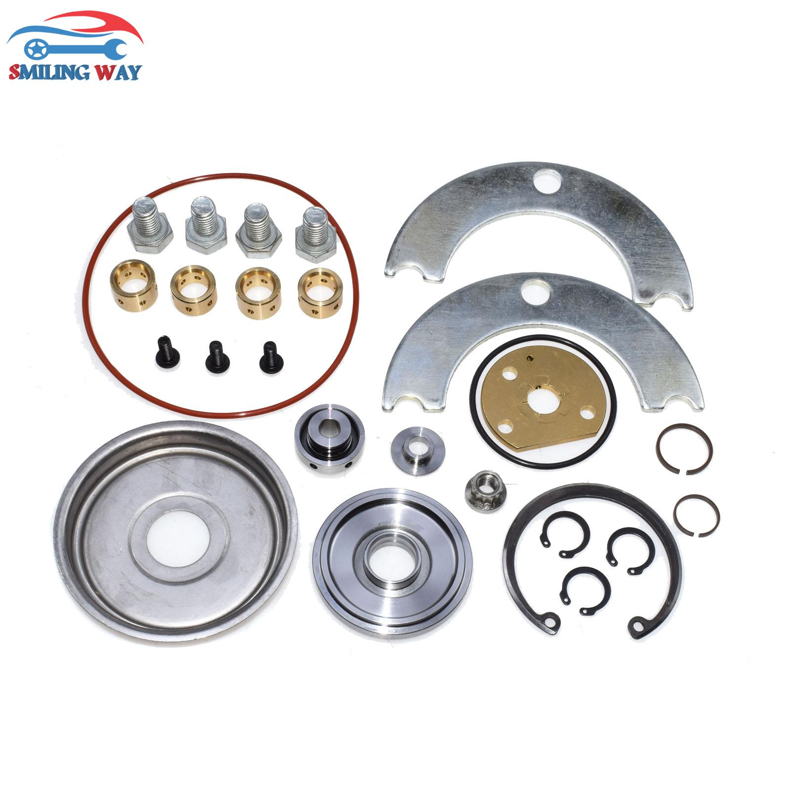 US $28 74 12% OFF|SMILING WAY# Turbo Charger Rebuild Repair Kit TB02 TB25  TB28 T2 T25 T28 For Nissan Eclipse 300zx OE# 431876 5070S 431876 5126S-in