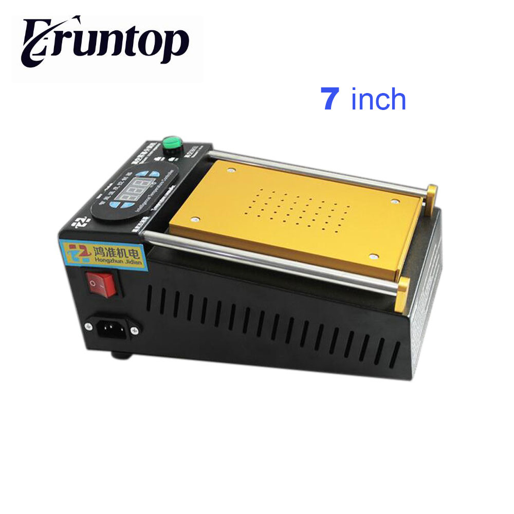 High Quality 7 inch Vacuum LCD Separator Machine Built-in Pump for Mobile phone LCD Refurbish vacuum pump inlet filters f007 7 rc3 out diameter of 340mm high is 360mm